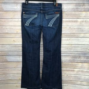 Seven 7 For All Mankind DOJO Flare Leg Jeans